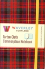 Image for Waverley (M): Cameron of Erracht Tartan Cloth Commonplace Notebook