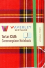 Image for Waverley (M): Royal Stewart Tartan Cloth Commonplace Notebook
