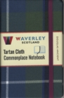Image for Waverley (M): Douglas Ancient Tartan Cloth Commonplace Notebook