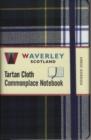 Image for Waverley (M): Dress Gordon Tartan Cloth Commonplace Notebook