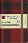 Image for Waverley (M): MacGregor Tartan Cloth Commonplace Notebook