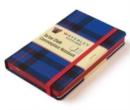 Image for Elliot Waverley Tartan Cloth Commonplace  Large 21 x 13cm Notebook