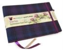 Image for Guest Book - Kinloch Anderson Thistle Tartan cloth : Waverley Scotland Genuine Tartan Commonplace Series (16cm x 24cm)