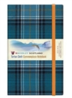 Image for Blue Loch Waverley Tartan Notebook/Journal: Large: 21 x 13cm