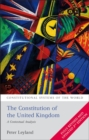 Image for The constitution of the United Kingdom  : a contextual analysis