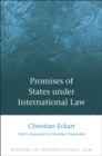 Image for Promises of states under international law