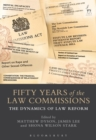 Image for Fifty years of the Law Commissions  : the dynamics of law reform