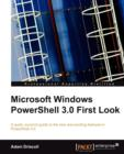 Image for Microsoft Windows PowerShell 3.0 First Look