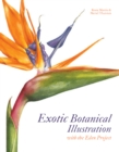 Image for Exotic botanical illustration with the Eden Project
