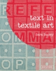 Image for Text in textile art