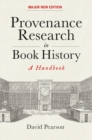 Image for Provenance research in book history  : a handbook