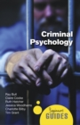 Image for Criminal psychology  : a beginner's guide