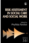 Image for Risk assessment in social care and social work
