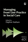 Image for Managing front line practice in social work