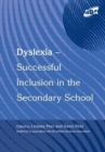 Image for Dyslexia  : successful inclusion in the secondary school