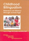 Image for Childhood bilingualism  : research on infancy through school age