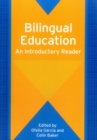 Image for Bilingual education  : an introductory reader