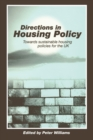 Image for Directions in housing policy  : towards sustainable housing policies for the UK