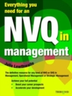 Image for Everything you need for an NVQ in management