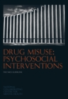 Image for Drug misuse  : psychosocial interventions