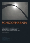 Image for Schizophrenia  : the nice guideline on core interventions in the treatment and management of schizophrenia in adults in primary and secondary care
