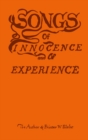 Image for Songs of innocence & of experience