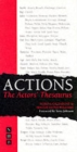 Image for Actions  : the actors' thesaurus