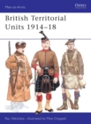 Image for British Territorial Units, 1914-18