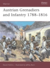 Image for Austrian Infantry and Grenadiers : 1788-1816