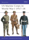 Image for US Marine Corps in World War I, 1917-1918