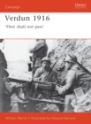Image for Verdun 1916  : 'they shall not pass'
