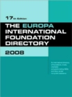 Image for The Europa international foundation directory 2008