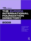 Image for The Europa International Foundation Directory 2009