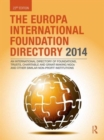 Image for The Europa international foundation directory 2014