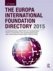 Image for The Europa international foundation directory 2015