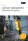 Image for Health, safety and environment test for operatives and specialists : GT100/19