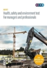 Image for Health, safety and environment test: For managers and professionals