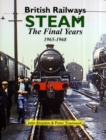 Image for Steam  : British railways - the final years 1965-1968