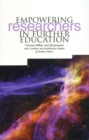 Image for Empowering researchers in further education
