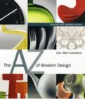 Image for The A-Z of modern design