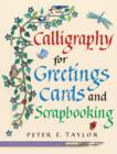 Image for Calligraphy for greetings cards and scrapbooking