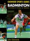 Image for Badminton  : technique, tactics, training