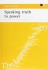 Image for Speaking truth to power  : research and policy on lifelong learning