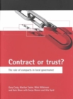 Image for Contract or trust?  : the role of compacts in local governance