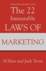 Image for The 22 immutable laws of marketing