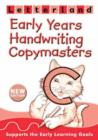 Image for Early years handwriting copymasters