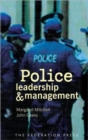 Image for Police leadership and management