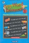 Image for Key word sentences  : using high frequency vocabulary in contextYear 1 book : Year 1 : England/Wales Version