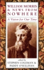 Image for William Morris and News from Nowhere : A Vision of Our Time