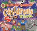 "Image for PlayHouse collection  : children's 5 CD pack : ""Let's Party"", ""Animal Magic"", the ""Wheel's on the Bus"", ""Nellie the Elephant"", & ""Heads, Shoulders,"